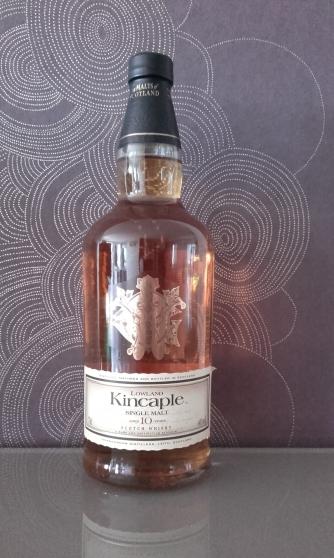 Annonce occasion, vente ou achat 'whisky KINCAPLE SINGLE MALT 10 ANS'