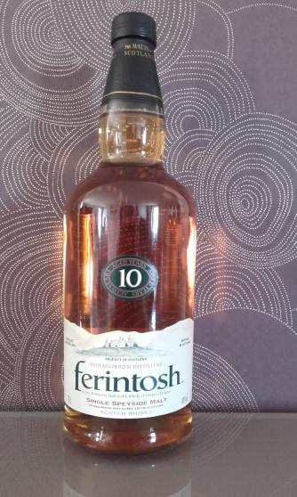 whisky FERINTOSH SINGLE MALT 10 ANS