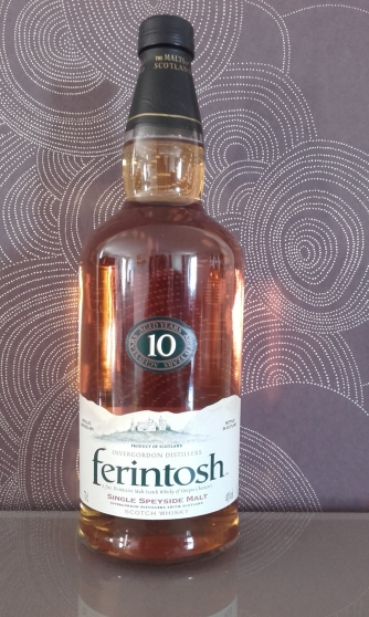 Annonce occasion, vente ou achat 'whisky FERINTOSH SINGLE MALT 10 ANS'
