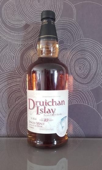 Annonce occasion, vente ou achat 'whisky DRUICHAN 10 ANS SINGLE MALT'