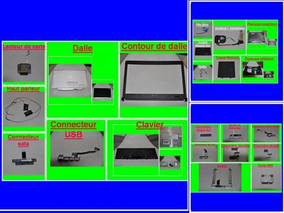 Petite Annonce : Pièces acer aspire 3810t de 13,3 pouces - Vend divers pièces pour acer Aspire 3810T de 13,3 pouces d\'occasion,