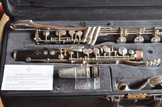 Annonce occasion, vente ou achat 'Clarinette basse Buffet Crampon Prestige'