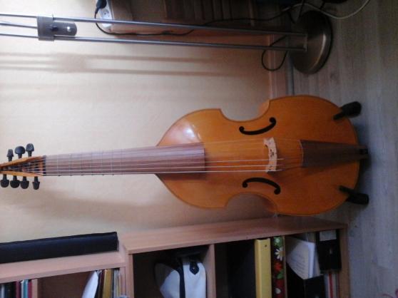 basse de viole de gambe 7 cordes - Annonce gratuite marche.fr