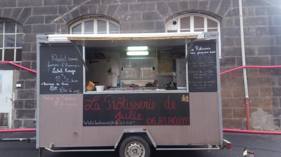 remorque rôtisserie food truck - Annonce gratuite marche.fr