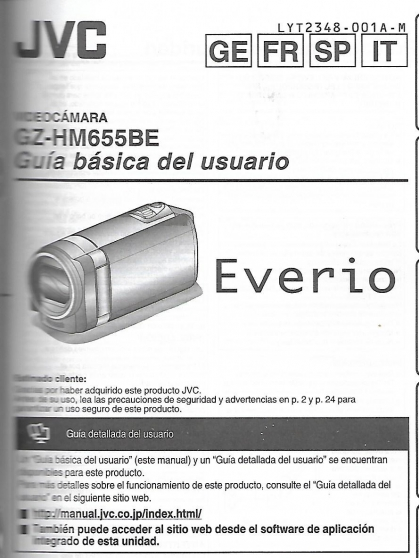 Caméra JVC