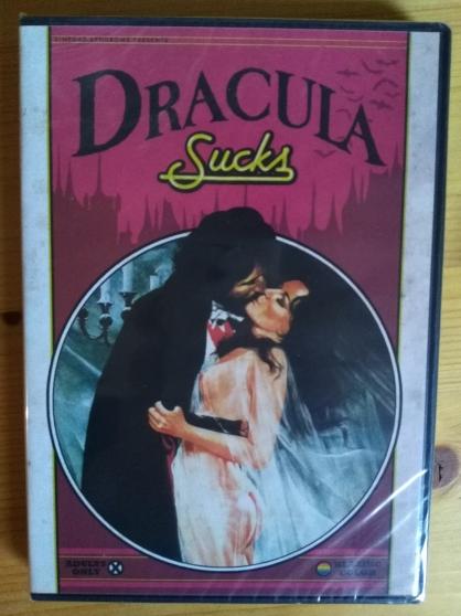 Annonce occasion, vente ou achat 'Vends DVD film Dracula Sucks'