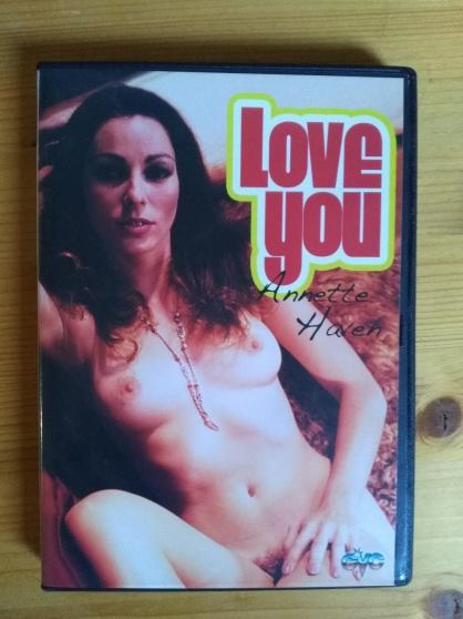 Vends DVD film Love you