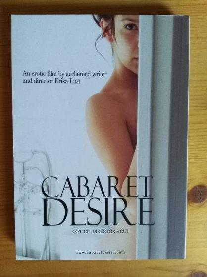 Vends DVD digipack, film Cabaret desire