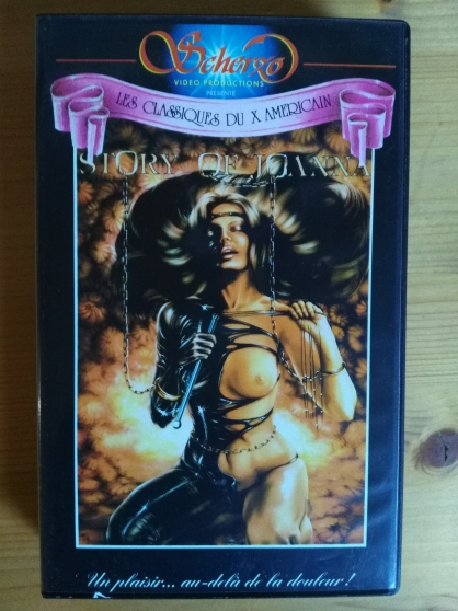 Annonce occasion, vente ou achat 'Vends VHS rare, film Story of Joanna'