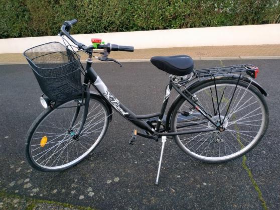 Vélo de ville femme noir