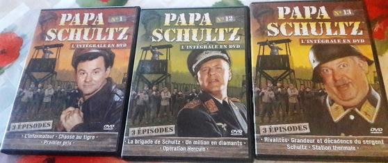 """DVD """"Papa Schultz""""."""