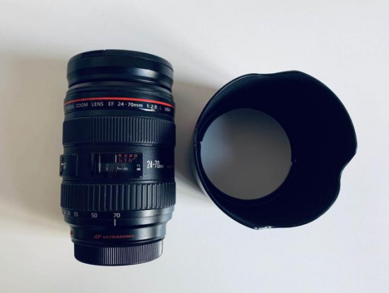Objectif canon 24-70mm 2.8 USM1