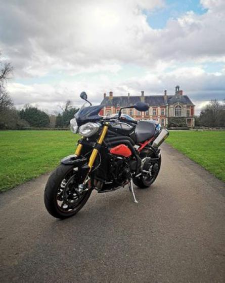 Annonce occasion, vente ou achat 'Triumph 1050 Speed triple R'