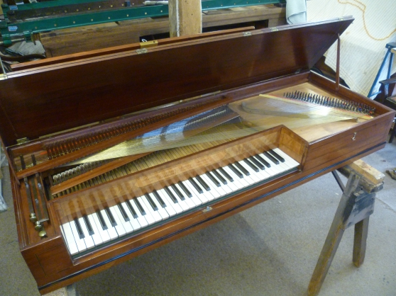 Pianoforte J. Zumpe & Buntebart. 1777