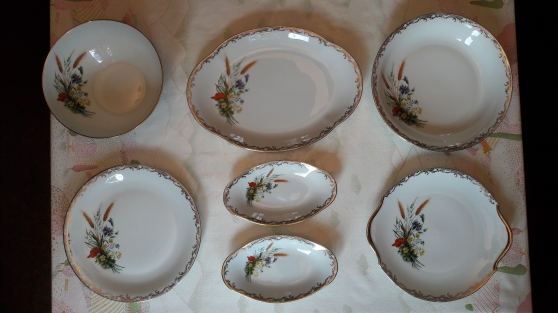 Service de table porcelaine de limoges