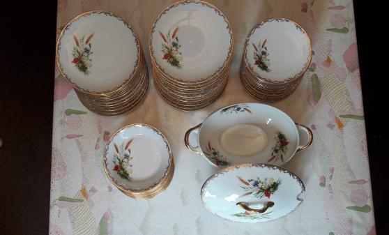 Service de table porcelaine de limoges - Photo 2