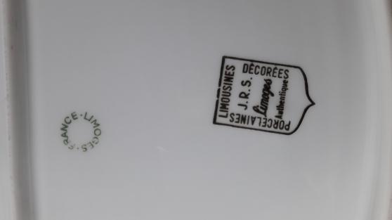 Service de table porcelaine de limoges - Photo 4