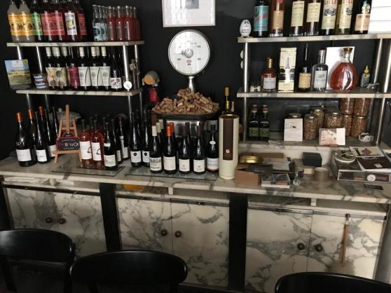 Meuble bar rare en marbre - Années 40