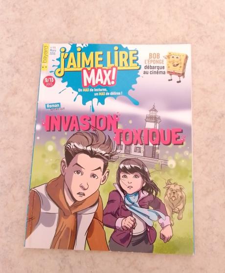 Annonce occasion, vente ou achat 'Invasion toxique de j\'aime lire max 195'