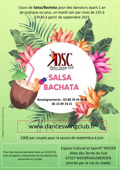 Annonce occasion, vente ou achat 'Cours de SALSA/ BACHATA'