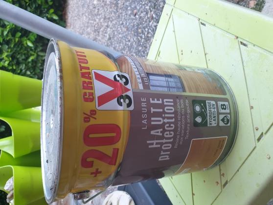Lasure V33 5 litres+ 20 % Coul. incolore