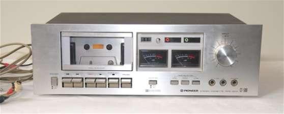 lecteur cassettes pioneer ct 506 vintage audio t l. Black Bedroom Furniture Sets. Home Design Ideas