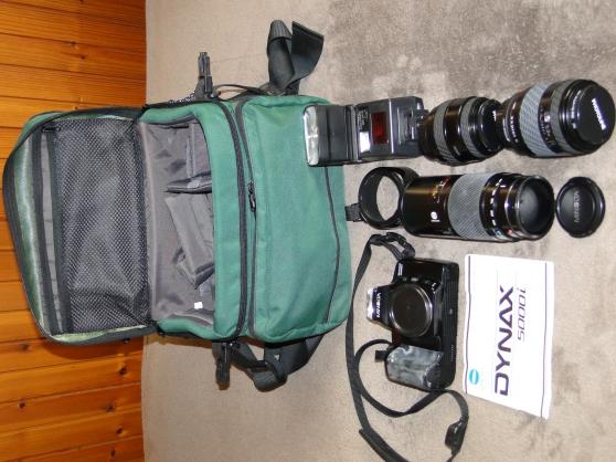Objectifs photos Minolta et Photoline
