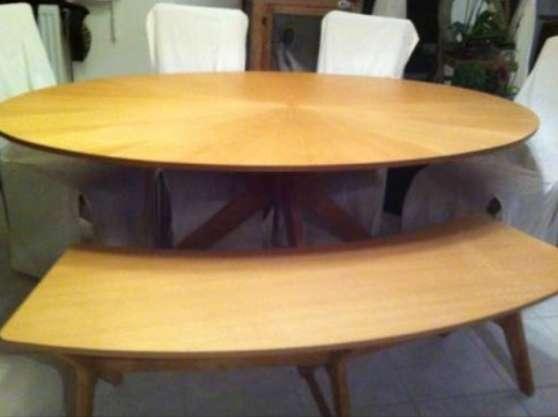 Ensemble table banc et 4 chaises aulnoye aymeries - Ensemble table et banc ...