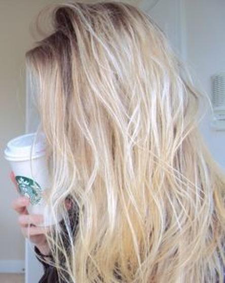 etudiante blonde