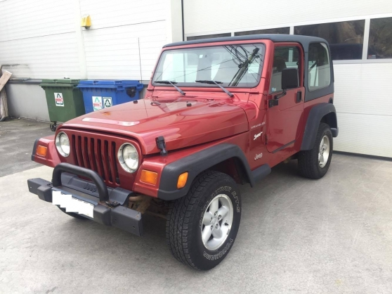 JEEP WRANGLER 2.5 SPORT SE HARD TOP