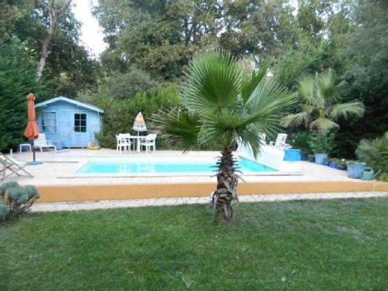 Golfe St Tropez : villa plain pied; pisc