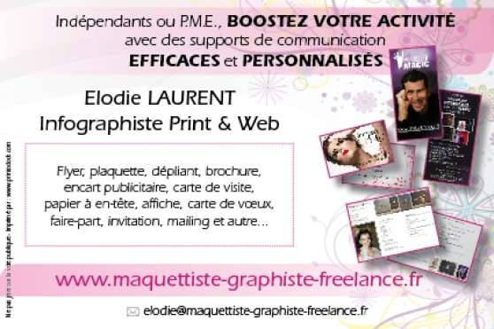 infographiste - Annonce gratuite marche.fr