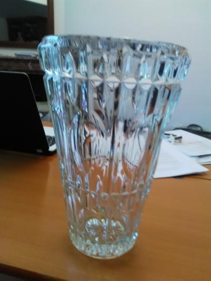 Grand vase en verre