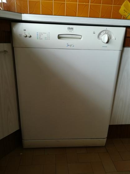 Annonce occasion, vente ou achat 'Lave vaisselle FAURE 12 couverts'
