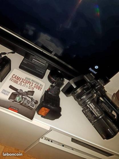 Annonce occasion, vente ou achat 'Caméscope Pro SONY HVR-Z5'