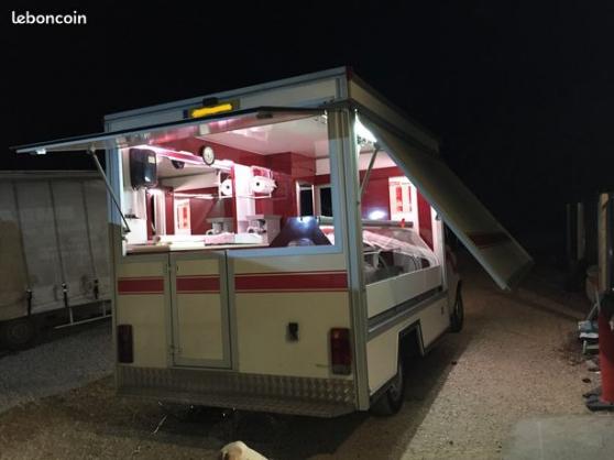 Camion magasin vitrine réfrigérais