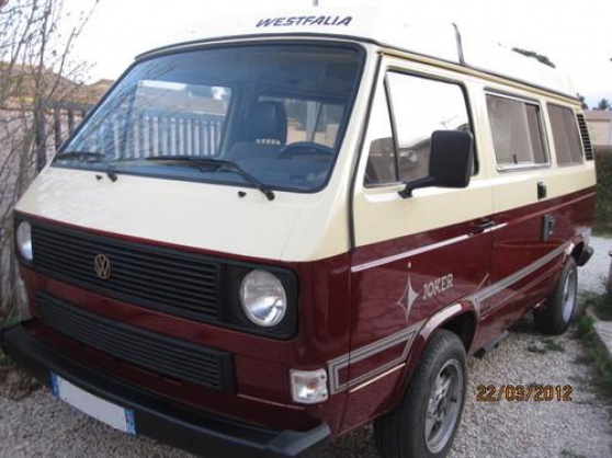 Annonce occasion, vente ou achat 'camping car vw transporter Westfalia com'