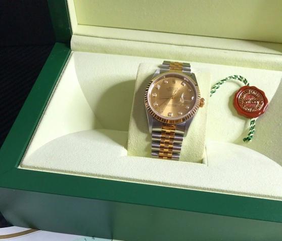 Annonce occasion, vente ou achat 'Rolex DateJust 16233 Cadran avec diamant'