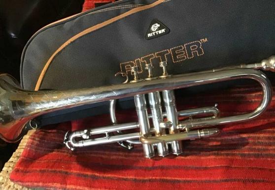 Cornet King Silver Tone