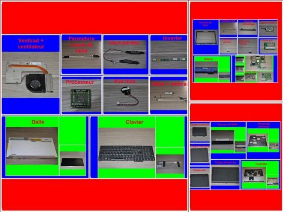 Pièces Acer Aspire 7000 de 17 pouces