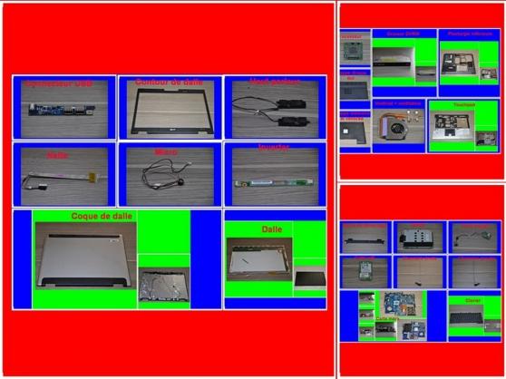 Pièces Acer Aspire 5100 de 15,4 pouces
