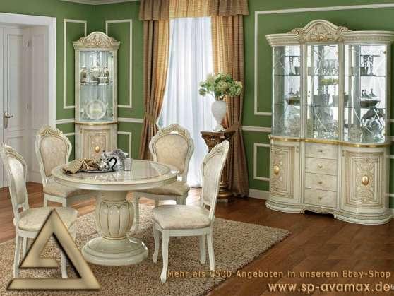 Salle manger leonardo meubles de luxe paris meubles for Meuble salle a manger paris