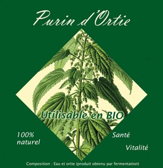 Purin d'ortie - Produit artisanal