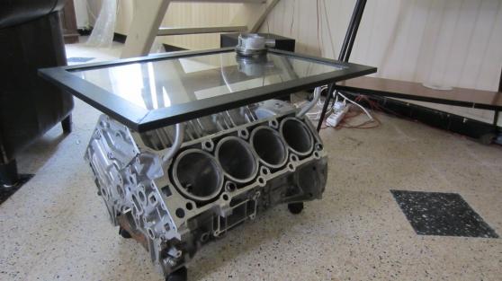 Table Basse En Un Bloc V8 Mercedes Amg A Gilly Sur Loire Auto