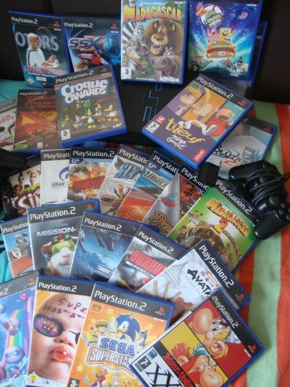 console + 56 jeux + accessoires - Photo 4