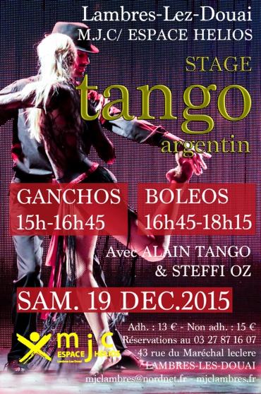 Annonce occasion, vente ou achat 'Stage de Tango'