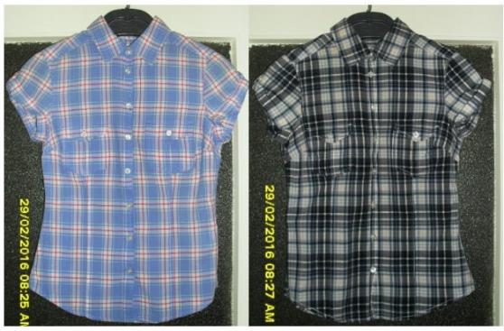 2 Chemises H&M T36/38