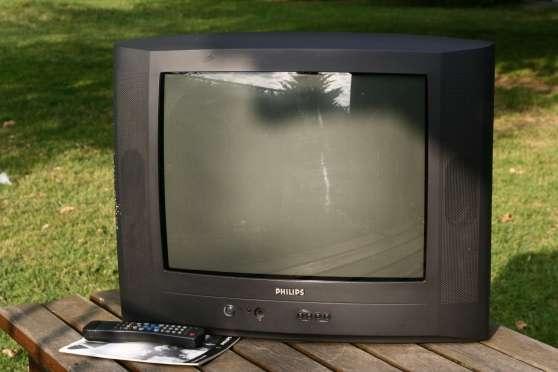 Télévision Philips 52 cm couleur 2 périt
