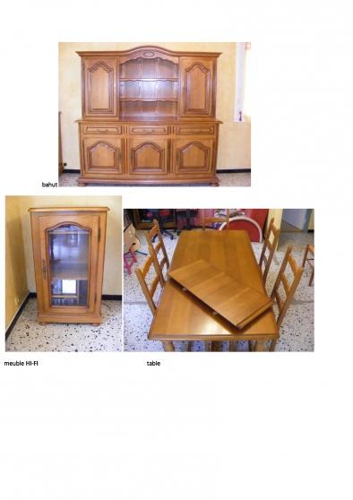 vend divers meubles bois