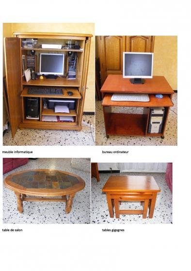 vend divers meubles bois - Photo 2